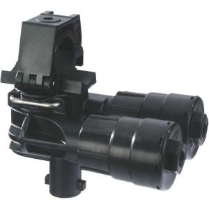 """Arag Selejet 2-v. dophouder 1/2"""" - 4063F440   1/2 Inch   35,5 mm   105 mm   76,5 mm   8 bar   3.8 bar"""