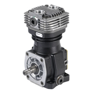 Wabco Compressor - 4111416400 | lucht gekoeld | 75 mm | 3000 Rpm omw/min | 18 bar | 8,8 kg | met flansch