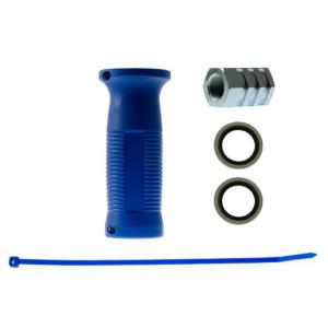 Voss Kopp. hendel blauw I/I 22x150 - 41400001392 | 300 bar | 100 °C | M22 x 1,5
