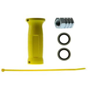 Voss Kopp. hendel geel I/I 18x15 - 41400003494 | 300 bar | 100 °C | M18 x 1,5