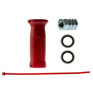 Voss Kopp. hendel rood I/I 22x150 - 41400004300 | 300 bar | 100 °C | M22 x 1,5