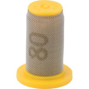 TeeJet Kogel dopfilter 80 mesh zinkgeel - 4193APP580SS | 0.34 bar | zinkgeel