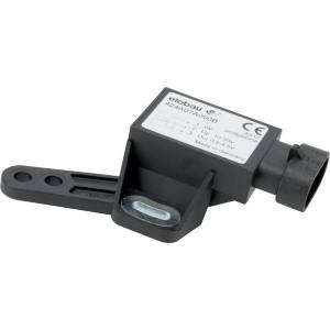 elobau Hoeksensor - 424A07A090B | 12V --> 10mA mA | 90° ° | 10-30V DC V | gewoon | 3-pens AMP-superseal 1,5 | 0,5 4,5V | met hendel