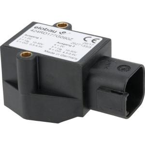 elobau Hoeksensor - 424RD177G090Z | 0,5 4,5 V | 12V --> 10mA mA | 90° ° | 10-30V DC V | Deutsch-connector DT04-6P