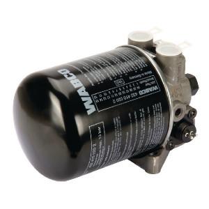 Wabco Luchtdroger met verwarming 12V. - 4324100030 | 13 bar | 8,1 bar | 0,6+0,4 bar | 2x M22x1,5 / 1x M12x1,5