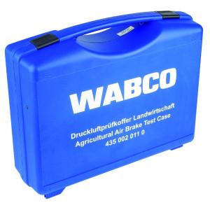 Wabco Luchtdrukrem. Koffer Landbouw - 4350020110 | zwart / rood / geel