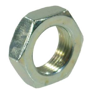 Lage moer M16 verz. - 439B16 | M16x2,0 | 8 mm | DIN 439 | ISO 4035 | Verzinkt | 2,1 kg/100 | Metrisch