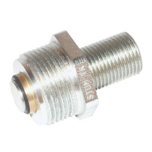 "Parker Insteeknippel dowty - 44108210 | Kipperbakken | Vlakafdichtend | volgens BS 1495/1 | Max. 200 bar | 1/2"" BSP | 34,8 mm | 1/2"" | 25 l/min | 200 bar"