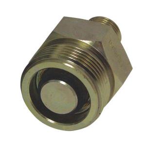 """Parker Insteeknippel DOWTY lang - 44108210L   1/2"""" BSP   34,8 mm   1/2""""   25 l/min   200 bar   902.45.000"""