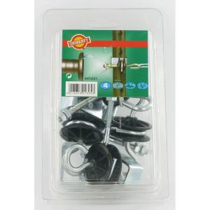 AKO Poortgreep isolator T-post 4 stuks - 441231