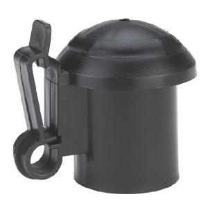AKO T-Post Isolator zwart - 441267