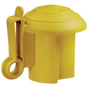 AKO T-post isolator geel - 441268