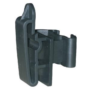 AKO Clip-bandisolator voor t-post - 44365 | Voor lint tot 40 mm