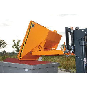 Bauer Südlohn Kiepbak EXPO300 lak oranje - 44980100001   1260 x 770 x 835 mm   112 kg   750 kg