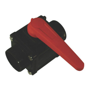 "Arag Kogel - ventiel 2- Weg 2"" M - 453006E77 | 10 bar | 174 mm | 110 mm | 109 mm | 2"" M | Polypropylene"
