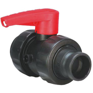 "Arag Kogel - ventiel - 4545177 | Dubbele wartelmoeren | 2"" | Polypropylene"