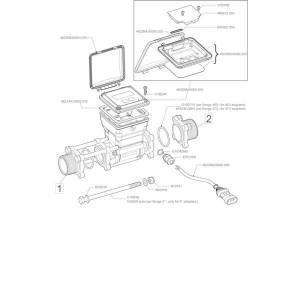 Arag Deksel v. flowmeter - 4622BA50000025