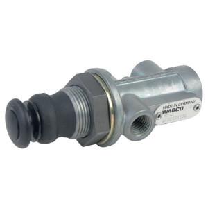 Wabco Drietrapsventiel - 4630131160 | Met zeskantmoer M26 x 1,5 | M26x1,5 | 3x M12x1,5
