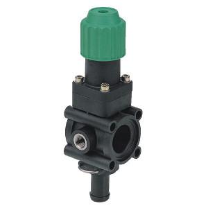 Arag Drukbegrenzingsventiel 20 bar - 463080   20 bar   max. 160l/min at 3 bar   19 mm