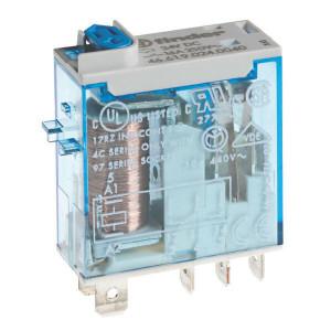 Finder Relais 1W 16A 230V/AC - 466182300054 | 230V AC V | 16 A | 440 V | 4.000 VA | 750 VA | 0,55 kW | 12/0,5/0,15 A | 300 (5/5) V/mA | 15/5 ms
