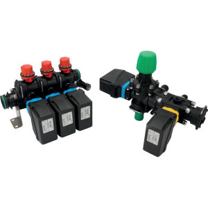 Arag Regelarmatuur 3TB 140l 20bar - 4715302E0SKIT | Moduleconstructie | Voor sproeimachines | 3 secties | 20 bar | 471520E50; 46301351AV