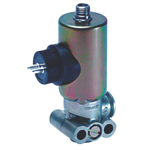 Wabco Magneetventiel 3/2 - 4721737000 | entluchting | 24 V | M12x1,5 | 4x M27x1 | 100 % | IP 6K9K / 6K7