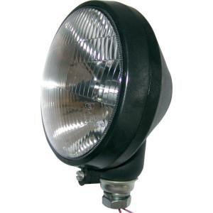 Werklamp rond 170x150 mm - 484060 | Verkocht zonder gloeilamp | Aanbouw | 170 mm