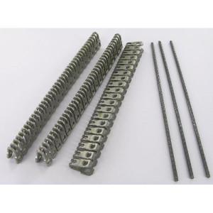 Flexco Riemverbinder set - 486555 | 220 mm | 3,2 5,6 mm | 52 N/mm² N/mm² | 220 mm | 220 mm | 3,6 mm | Gegolfd verenstaal