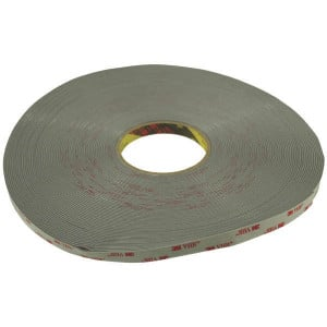 3M Tape VHB 12 mm x 33 m - 4956P123 | Breed inzetbaar | 1,55 mm