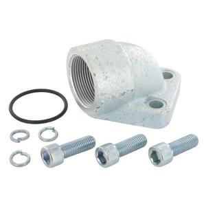 OMT Flens haaks 1-1/2 - 4G24 | Gietstaal | 72,5 mm | 70 mm | 102 mm | 47,65 x 3,53 | 180 bar | 1 1/2 BSP | M12x35