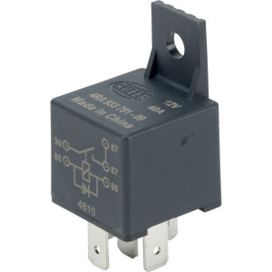 Hella Relais Mini 12V 40A - 4RA933791091 | 30/85/86/87/87