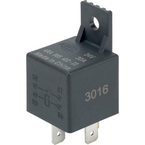 Hella Relais sluiter - 4RA965400031 | 30/ 86/ 85/ 87 | met houder