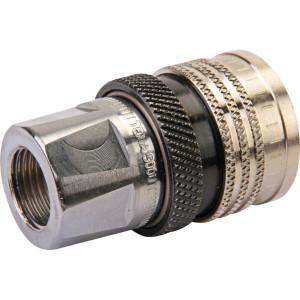 """Parker Snelkoppeling Female 1/2"""" BSP - 501112TE   1/2 BSP inch   300 bar   85 l/min"""