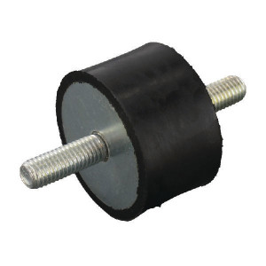 Trillingsdemper TYPE A - 5030A55L | 50 mm | 30 mm | M10 x 28 mm | 55 ° SH