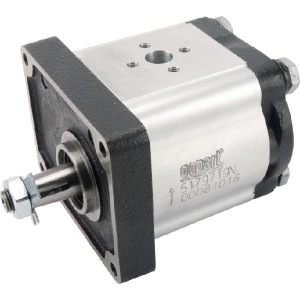 Gopart Hydrauliekpomp 14cc - 5179719N | 14 cc/omw | 250 bar p1 | 280 bar p2 | 300 bar p3 | 3500 Rpm omw./min. | 600 Rpm omw./min. | 113,4 mm | 113,4 mm | 55,4 mm | 30 mm | 30 mm