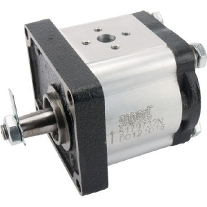 Gopart Hydrauliekpomp 8,2cc - 5179732N | 8,2 cc/omw | 250 bar p1 | 280 bar p2 | 300 bar p3 | 3000 Rpm omw./min. | 600 Rpm omw./min. | 102 mm | 102 mm | 30 mm | 30 mm