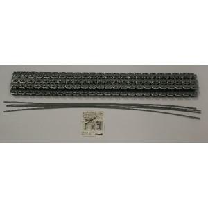 Flexco Riemverbinder set RS125 J24/600NC - 54520 | 600 mm | 3,2 4,8 mm | 315 N/mm² N/mm² | 600 mm | 600 mm | 3,6 mm | Staal met nylon mantel