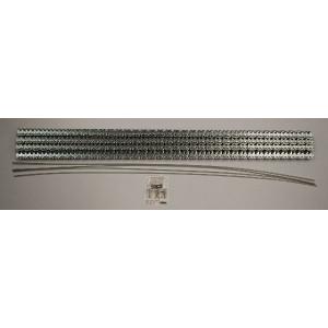 Flexco Riemverbinder set RS125 J36/900NC - 54522 | 900 mm | 3,2 4,8 mm | 315 N/mm² N/mm² | 900 mm | 900 mm | 3,6 mm | Staal met nylon mantel