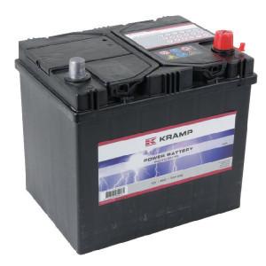 Accu 12V 60Ah 520A Kramp - 560412051KR | 232 mm | 173 mm | 225 mm | 537977 | 8716106054275