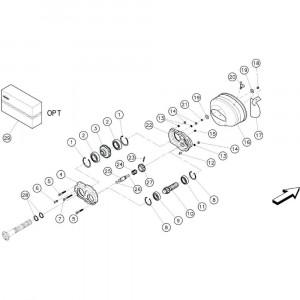 Kuhn Tandwiel Z=14 - 58543400   Z=14, Aant.1