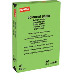 Staples Papier A4 grasgroen 500v - 600316ST | 210x297 mm