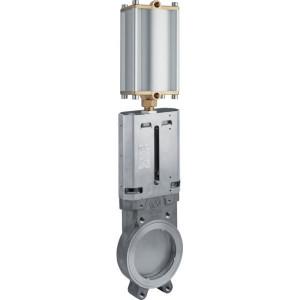 "MZ Mesafsluiter 6"" RVS + Pneu. cilinder - 6012575 | DIN PN 10 | 10 bar | 65,5 mm | 413 mm | 128,4 mm | 150 mm | 6 Inch | 205 mm | 10,5 mm | 520 mm | 107 mm | 240 mm | 707 mm | 22.900 g"