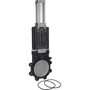 "Battioni Pagani Afsluiter 6"" pneumatisch BP - 6080200270 | DIN PN10 UNI EN 1092-1 | 3,5 10 bar | 150 mm | 150 mm | 725 mm | 855 mm | 240 mm | 10 bar"