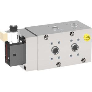 AK Regeltechnik Wisselschuif 6/2- 1-24VDC - 6224AK10138 | 350 bar | 120 l/min | +pilot operated | 24V DC V | 250 l/min | 350 bar | -20 … +80 | SAE J518 SAE