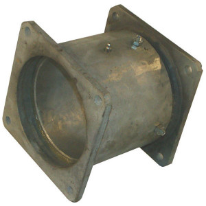 "Draaikopp. 6"" + vk.flens - 6302230Z | 150 mm | 6"" Inch"