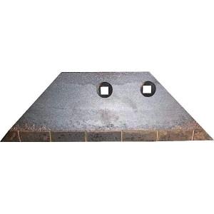 Vleugel rechts, GG45 - 63425004CN | 313 mm | 100 mm | 100 mm