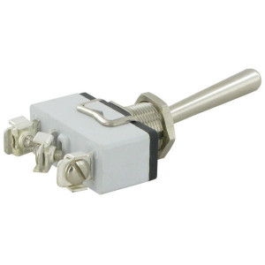 APEM Schakelaar 1-pol. on-on lange hefboom - 636H5   Voertuigelectronica   6,3 x 0,8   29,5 mm   12 mm