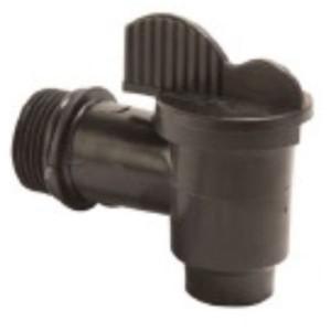 Kraan voor watertank, zwart - 680000005