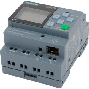 Siemens Logicamodule met display - 6ED10521MD080BA0 | 10.8 28.8 V DC | 71.5 mm