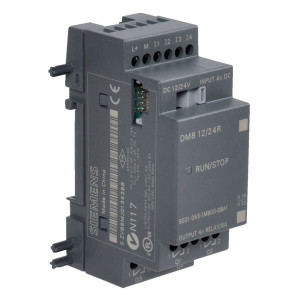 Siemens Uitbreidingsmodule - 6ED10551NB100BA2 | Relais Relais/Transistor | 20.4-28.8V DC | 71.5 mm | Schroefaansluiting | 28.8 0 V | 265 0 V | 1.5 1.5 ms